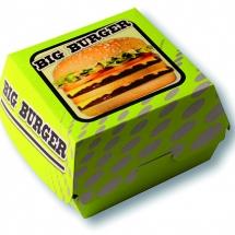 Boite big burger vert